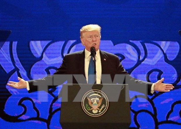 APEC 2017: US President hails Vietnam as fastest-growing economy hinh anh 1