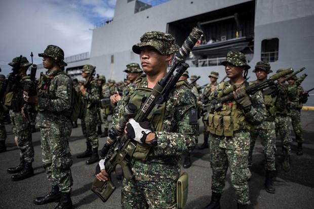 Philippine army clash with Abu Sayyaf hinh anh 1