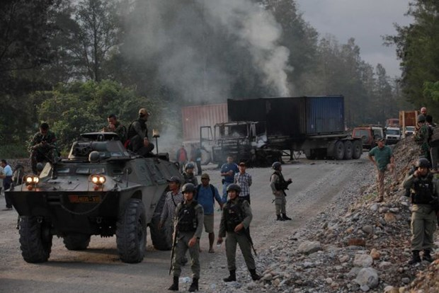 Indonesia searches for gunmen in eastern Papua province hinh anh 1