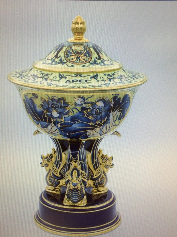 Minh Long – pride of Vietnamese ceramics at APEC 2017 hinh anh 2