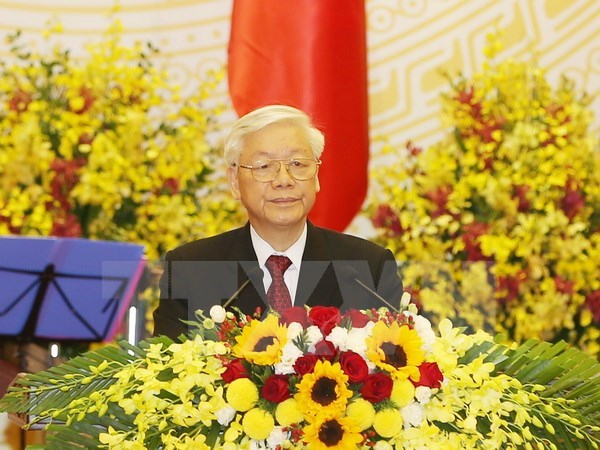 Banquet welcomes Chinese Party General Secretary Xi Jinping hinh anh 2