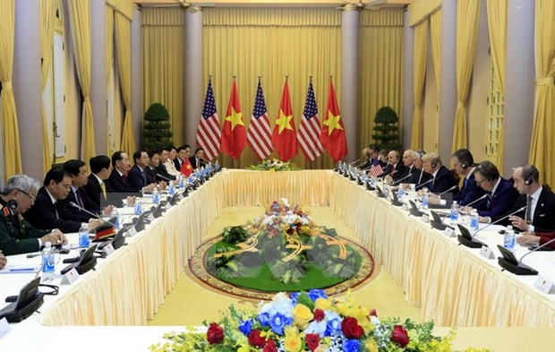 Measures to develop Vietnam-US relations talked hinh anh 1