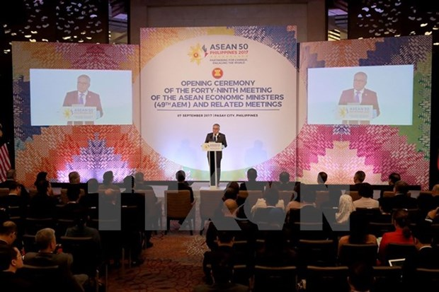 RCEP trade deal expected to be signed in 2018 hinh anh 1