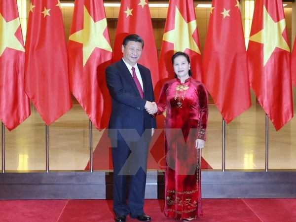 Vietnam, China issue joint statement hinh anh 3