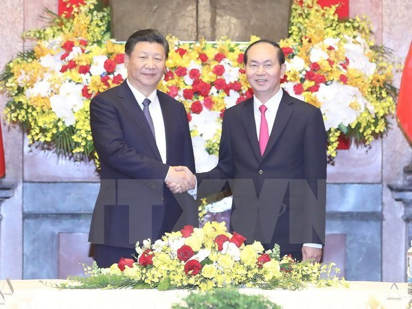 Vietnam, China asked to unceasingly reinforce political trust hinh anh 1