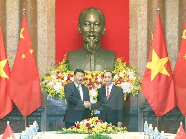 Vietnam, China issue joint statement hinh anh 2