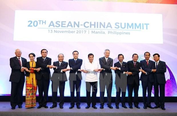 China proposes formulation of strategic partnership vision with ASEAN hinh anh 1