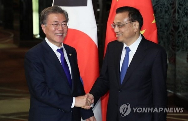 RoK, China hope for early relations normalisation hinh anh 1