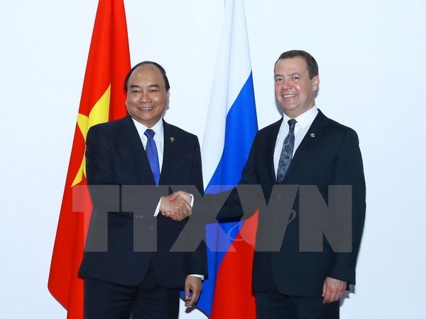 PM meets Russian, Philippine leaders at ASEAN Summit hinh anh 2