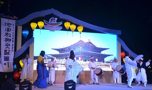 Korean Andong Culture Day held in Hoi An hinh anh 1