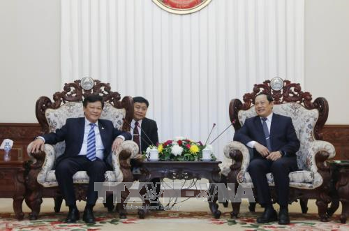 Lao Deputy PM lauds Vietnam home affairs ministry's support hinh anh 1