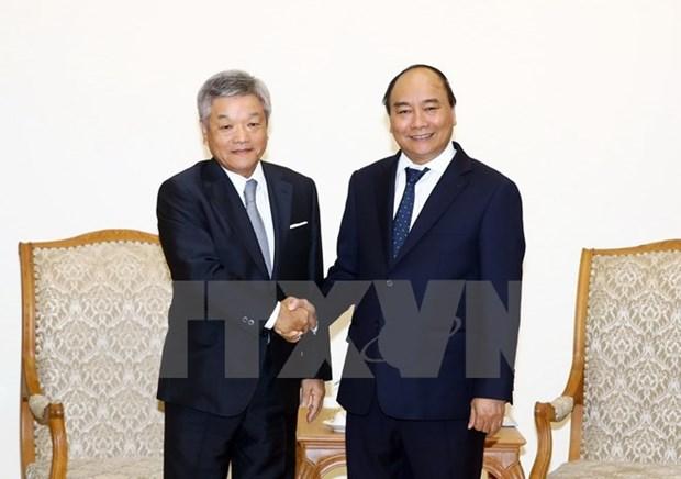 Prime Minister receives Japan's Nikkei President hinh anh 1