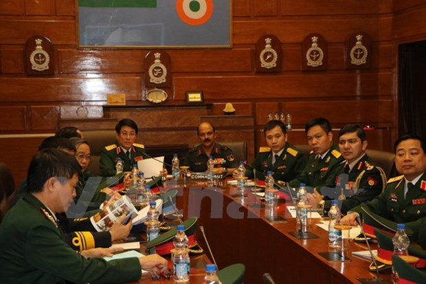 Vietnam, India look to strengthen defence relations hinh anh 1