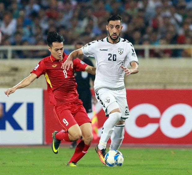 Vietnam draw with Afghanistan, qualify for 2019 Asian Cup hinh anh 1