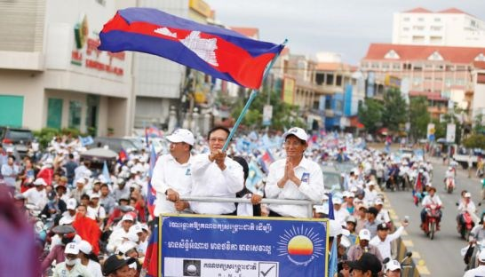 Cambodia's opposition party dissolved by Supreme Court hinh anh 1
