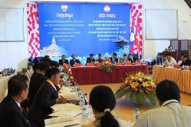 Kon Tum, Lao provinces work to enhance shared border hinh anh 1
