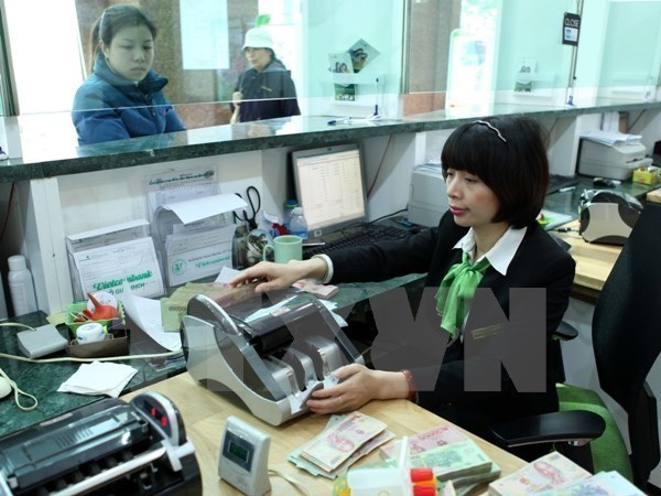 Reference exchange rate goes down by 7 VND hinh anh 1