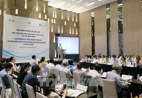 Central region reviews green growth strategy realisation hinh anh 1