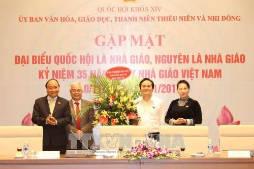 Government, NA leaders highlight importance of education hinh anh 1
