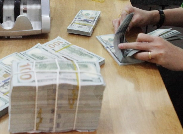 Reference exchange rate continues to drop hinh anh 1