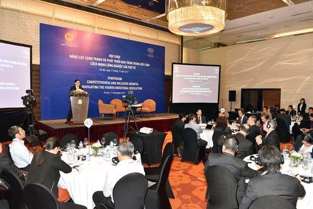 WEF to propose policies for Vietnam to seize 4IR opportunities hinh anh 1