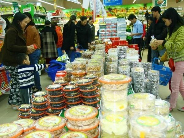 Hanoi prepares goods worth 1.14 billion USD for Tet hinh anh 1