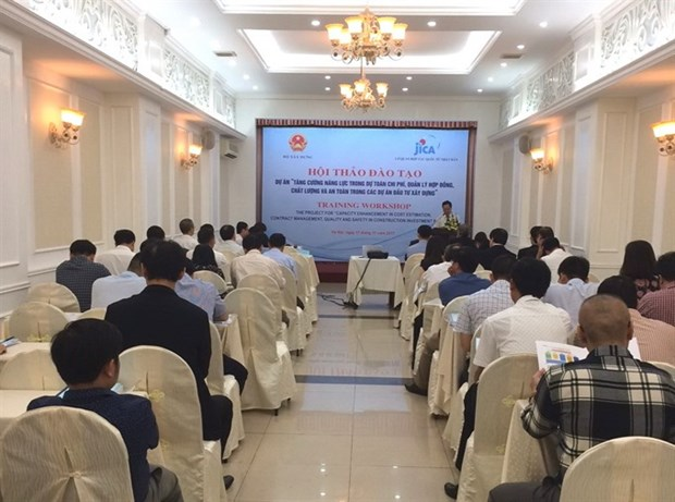 JICA workshop on construction projects hinh anh 1