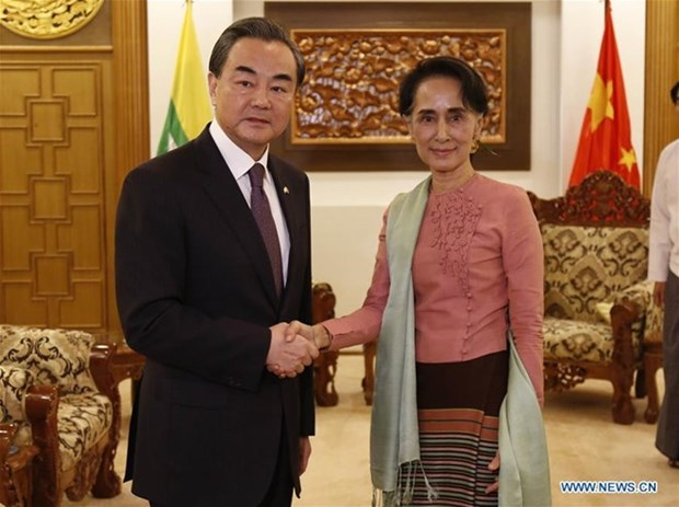 China proposes building economic corridor with Myanmar hinh anh 1