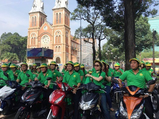 Mai Linh to join hi-tech motorbike taxi game hinh anh 1