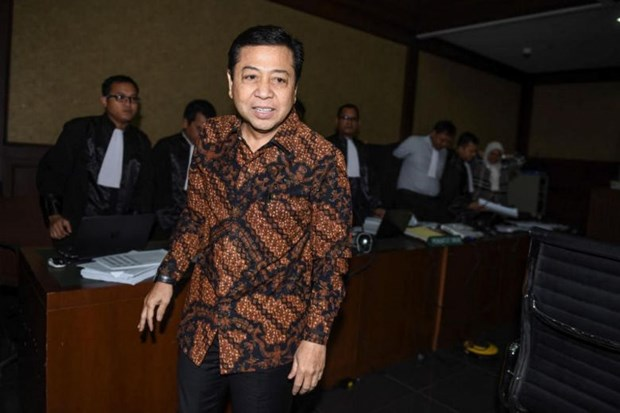 Indonesia's anti-graft body arrests lower house speaker hinh anh 1