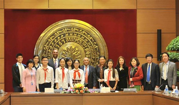 NA Vice Chairwoman meets UNICEF representative in Vietnam hinh anh 2