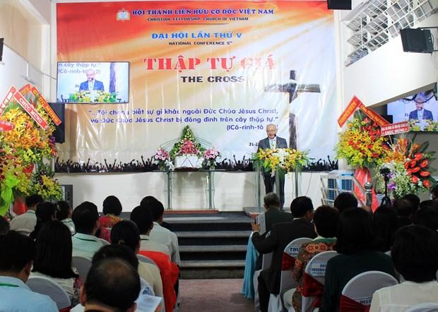 Christian Fellowship Church of Vietnam convenes 5th congress hinh anh 1