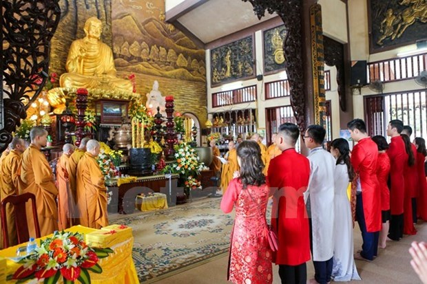 Vietnamese culture features Buddhist legacy hinh anh 3