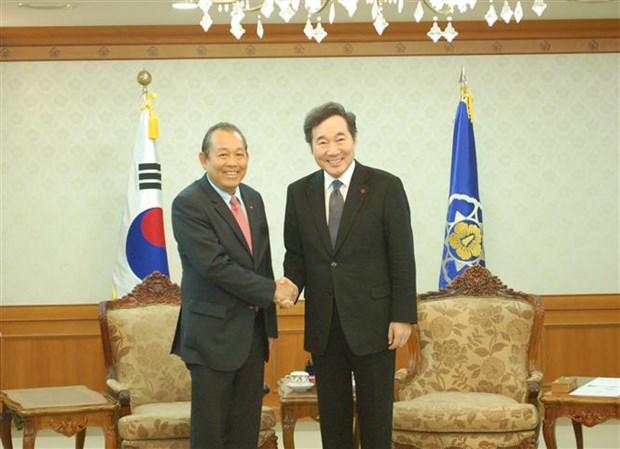 Vietnam, RoK enjoy deeper strategic cooperative partnership hinh anh 1