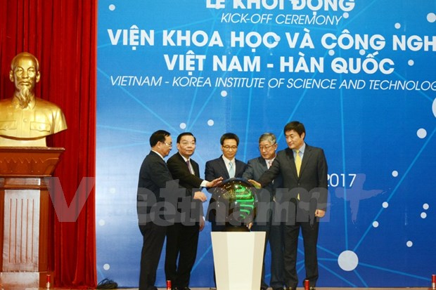 Vietnam-Korea Institute of Science and Technology launched hinh anh 1