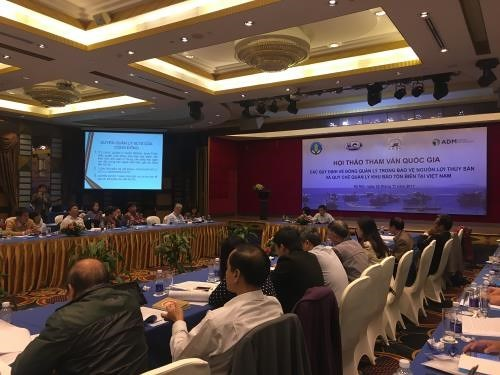 Workshop talks co-management of aquatic resource protection hinh anh 1