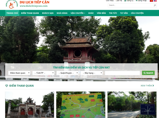 Accessible travel website for the disabled launched hinh anh 1