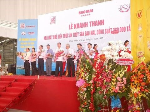 35-million-USD aquatic feed plant opens in Dong Thap hinh anh 1
