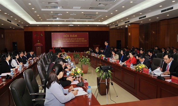 Cao Bang, Chinese entrepreneurs to strengthen cooperation hinh anh 1