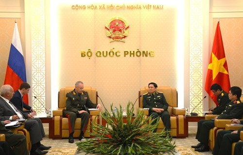 Vietnam, Russia foster defence ties hinh anh 1