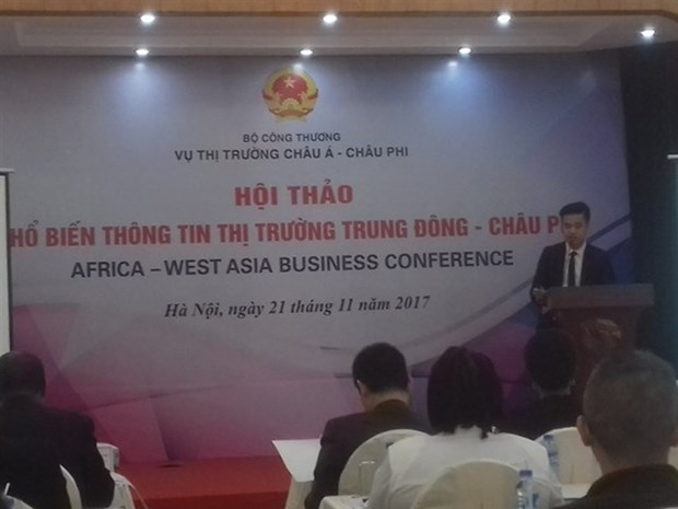 Seminar promotes trade to Middle East, Africa hinh anh 1