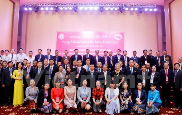 Vietnam attends int'l workshop on socialism in Laos hinh anh 1
