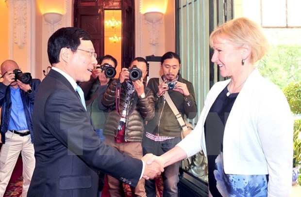 Vietnam, Sweden to establish sectoral strategic partnerships hinh anh 1