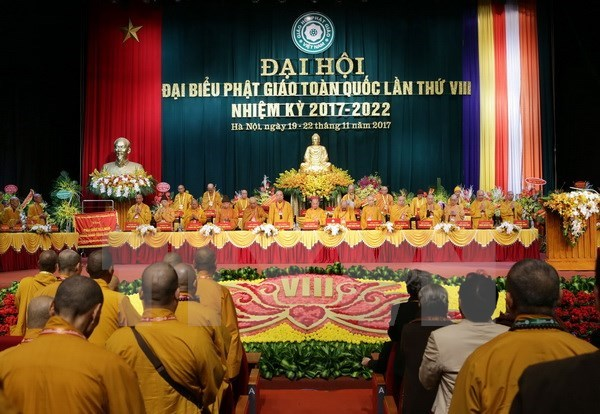 Vietnam Buddhist Sangha's 8th congress concludes in Hanoi hinh anh 1