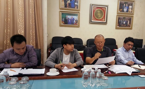 Coach Park to choose 35 players for U23 team hinh anh 1