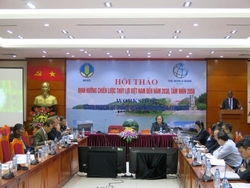 Workshop discusses sustainable irrigation development hinh anh 1