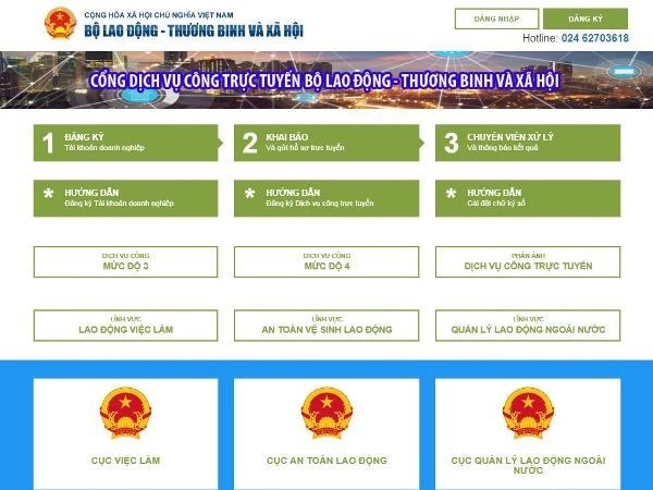 MoLISA inaugurates public services portal hinh anh 1