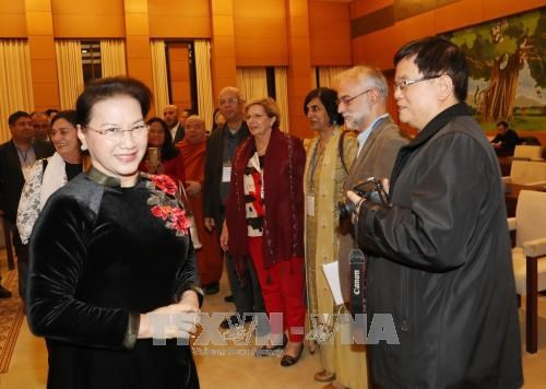 Vietnam sees peace protection as top priority: top legislator hinh anh 1