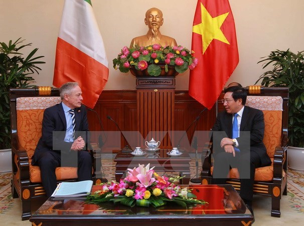 Vietnam, Ireland enhance multifaceted cooperation hinh anh 1
