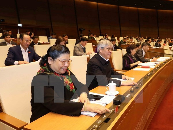 14th NA's fourth meeting passes planning law hinh anh 1